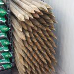 Boompalen 250cm lang 6 cm diameter